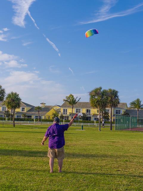 Fort Pierce Kite Flying-2
