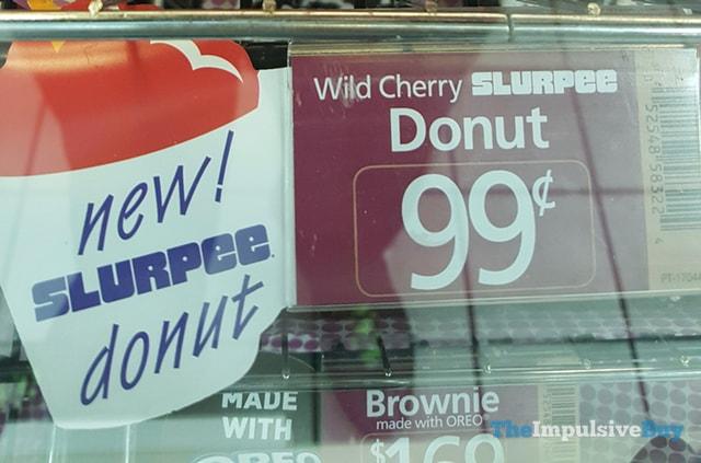 7-Eleven Wild Cherry Slurpee Donut