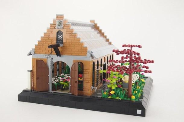 Das alte Gewächshaus