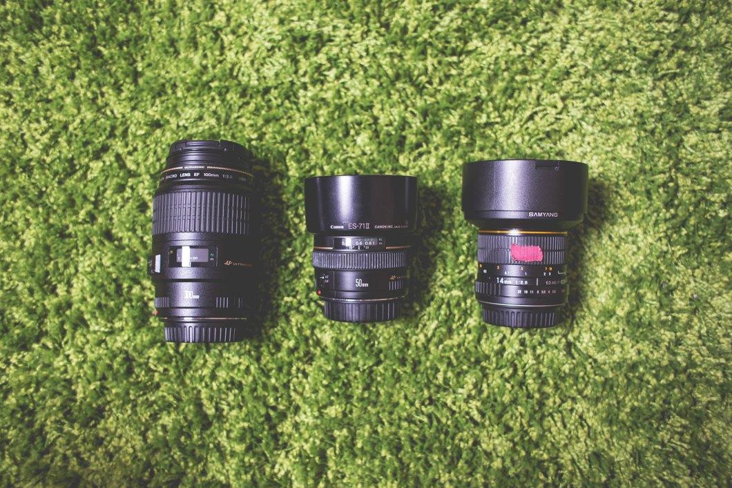 Imagen gratis de unos objetivos de cámara