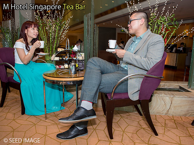 M Hotel Singapore Tea Bar