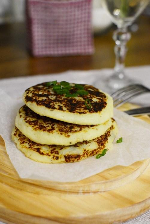 Potato-pancakes-mushroom-spinach-pine-nutsfilling