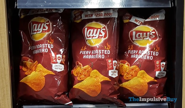 Lay's Fiery Roasted Habanero Potato Chips