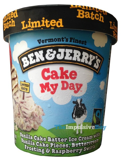 Ben & Jerry's Limited Batch Cake My Day Ice Cream