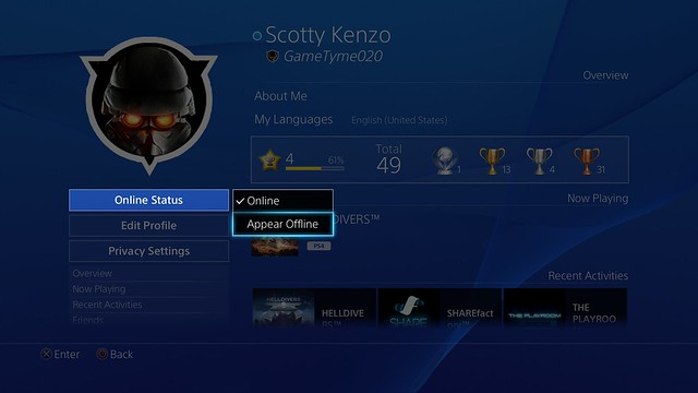 PlayStation 4 System Software 3.50 Update Detailed 1