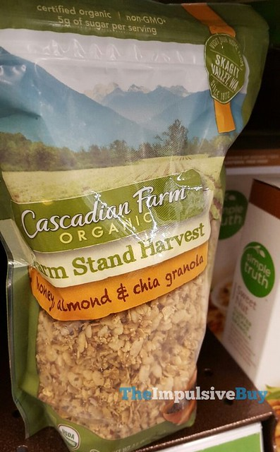 Cascadian Farm Farm Stand Harvest Honey, Almond & Chia Granola