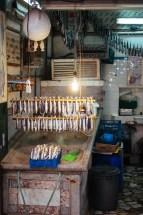 Istanbul: fish monger in Beyoglu