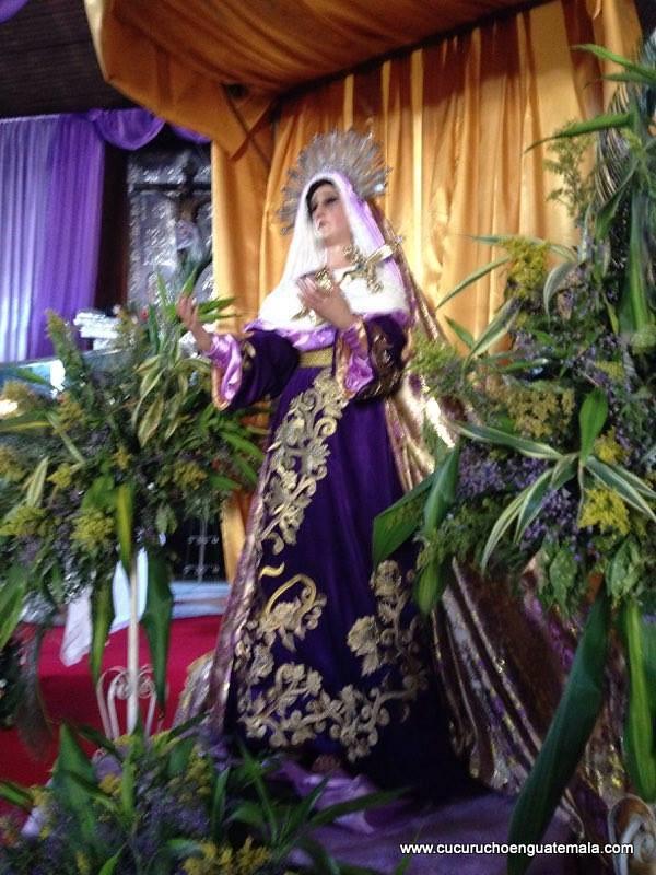 Virgen de Dolores de San Luis, Salcajá