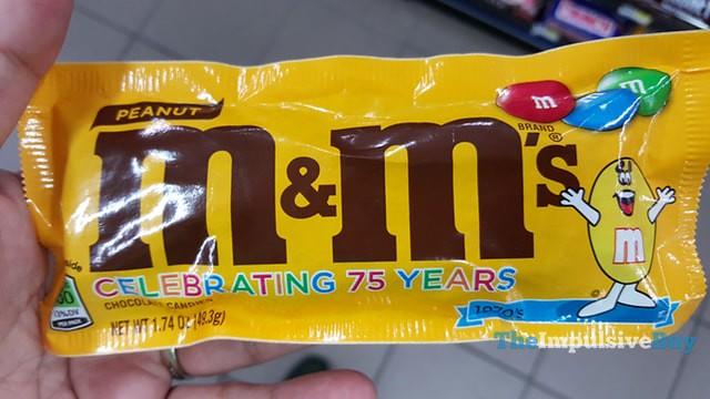 Peanut M&M's Retro Package