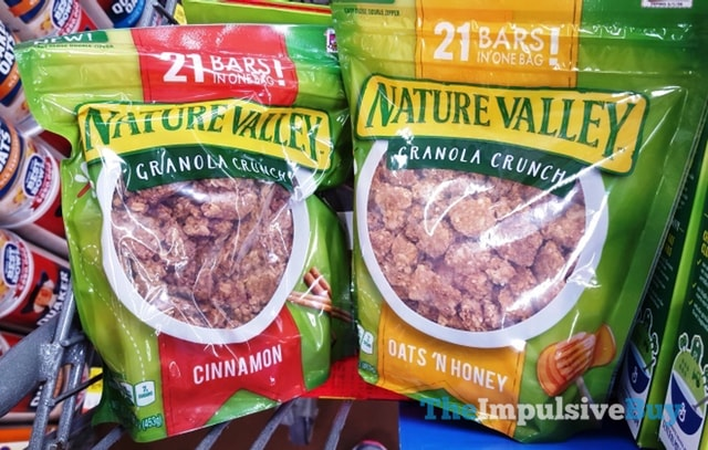 Nature Valley Granola Crunch (Cinnamon and Oats 'n Honey)