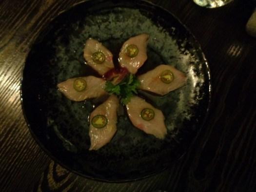 Nobu Tasting Menu, Caesars, Las Vegas NV