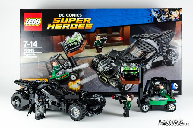 REVIEW LEGO 76045 DC Comics Batman Kryptonite Interception 31