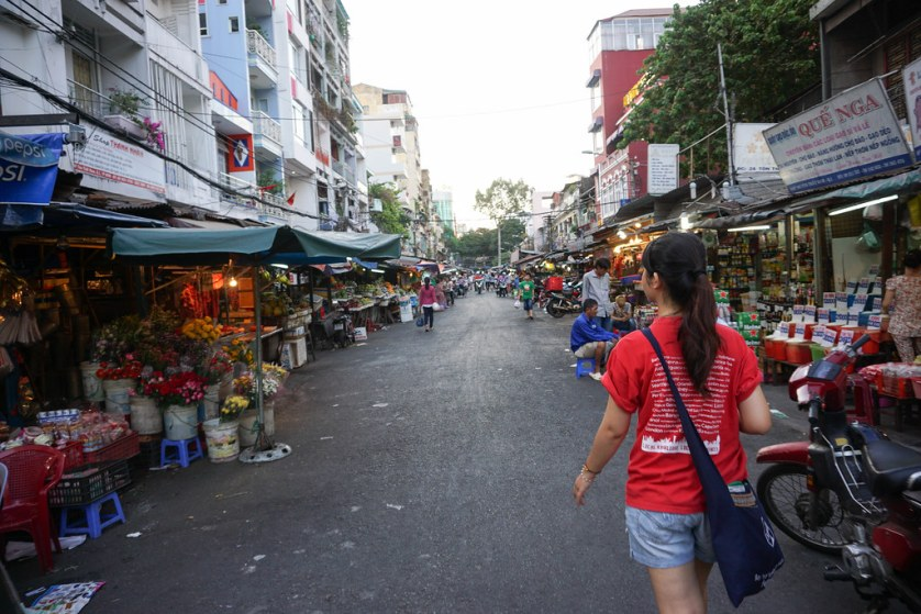 Saigon Street Food by Night Tour with Urban Adventures, Ho Chi Minh City, Vietnam, April 2016