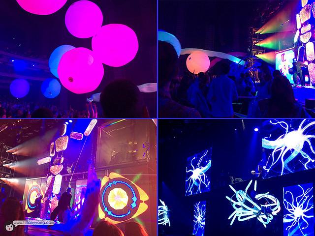 Blue Man Group Singapore Performance