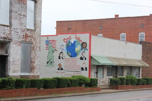 'One Love' Mural, Marion AL