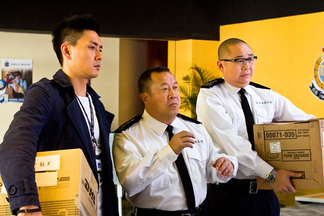Eric Tsang with Bosco Wong