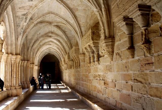 Claustro del Monasterio de Poblet