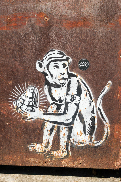 Chiang Mai Street Art 56