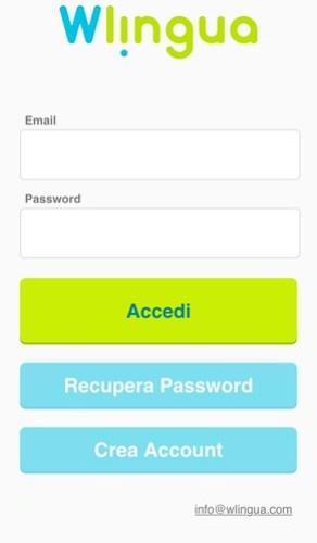 wlingua l'app per imparare le lingue