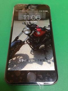 44_iPhone6のフロントポネルガラス割れ