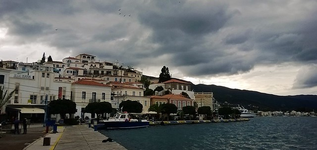 port side Poros Greece
