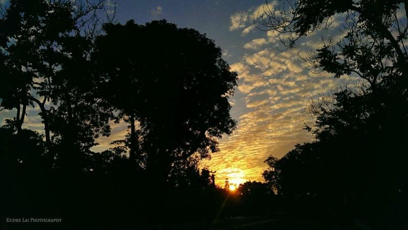 夕陽彩霓(beautiful sunset)