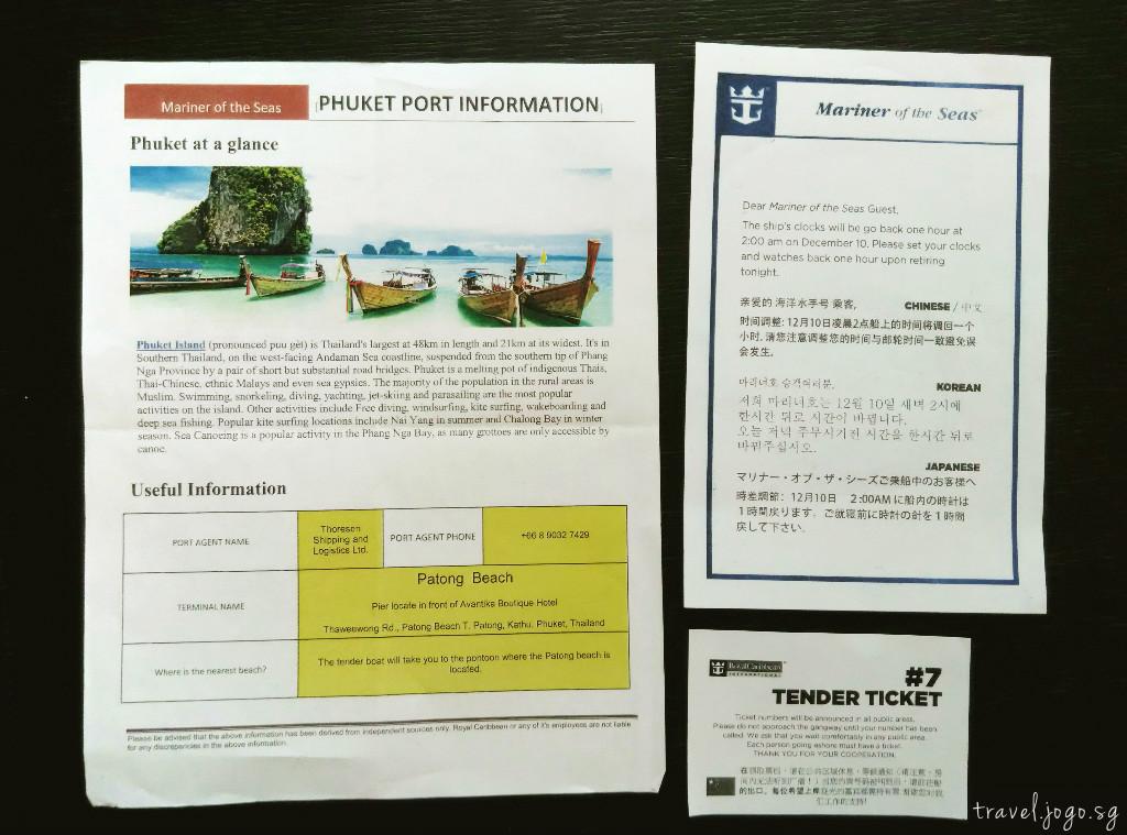 Mariner of the Seas Port of Calls - travel.joogo.sg