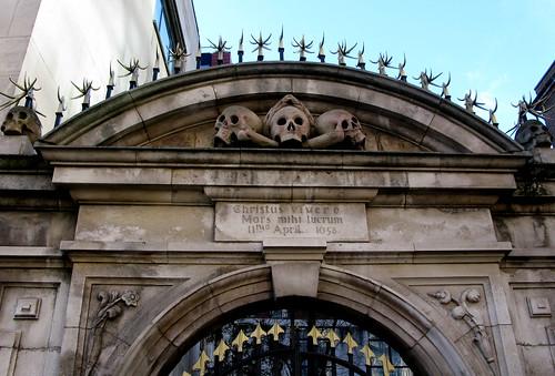 St. Olave's cemetery gate