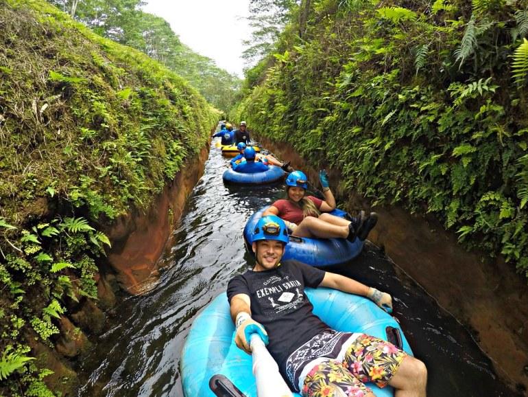 kauai mountain tubing