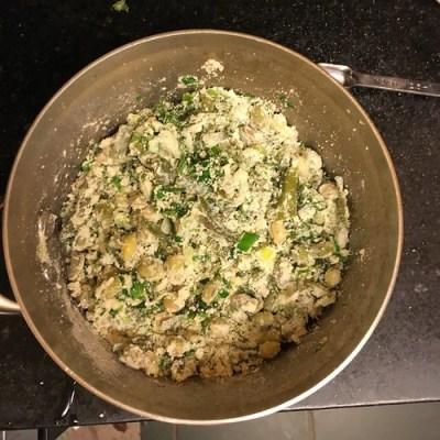 Kudumulu ~ Chikkudu Kudumulu ~ Steamed Rice & Broad Bean