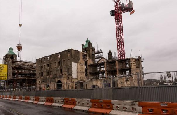 Demolition of University Arms Hotel Cambridge