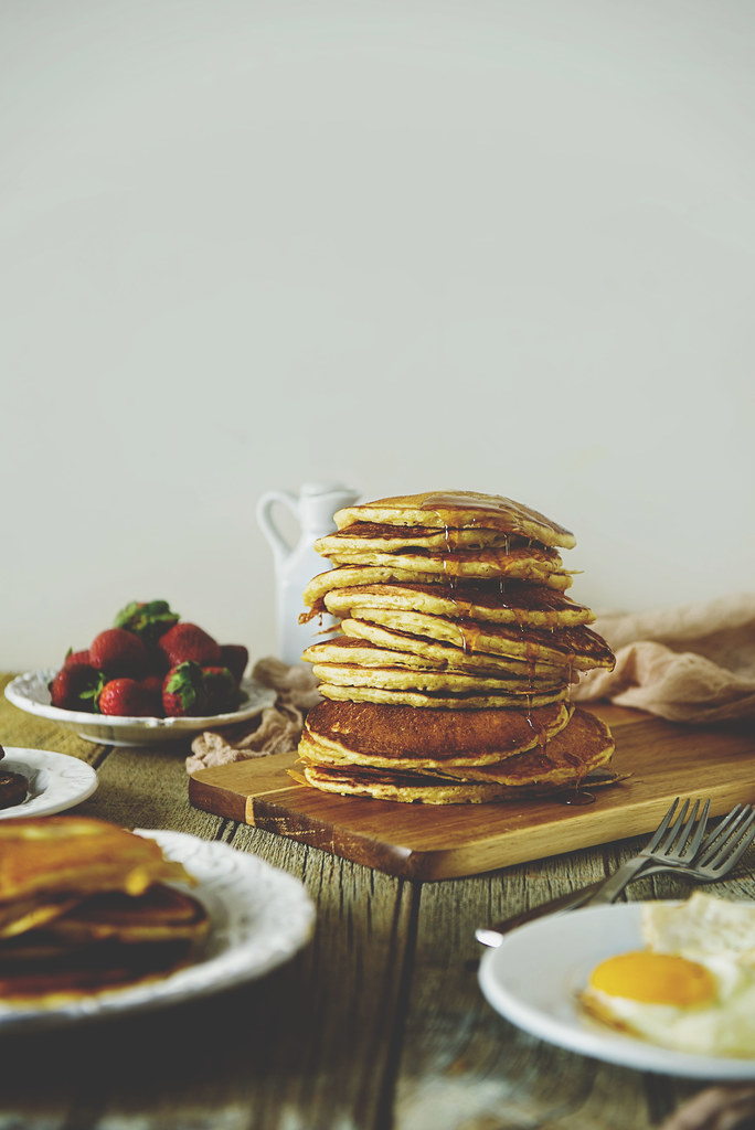 Classic Buttermilk Pancakes {Pass the Sushi}