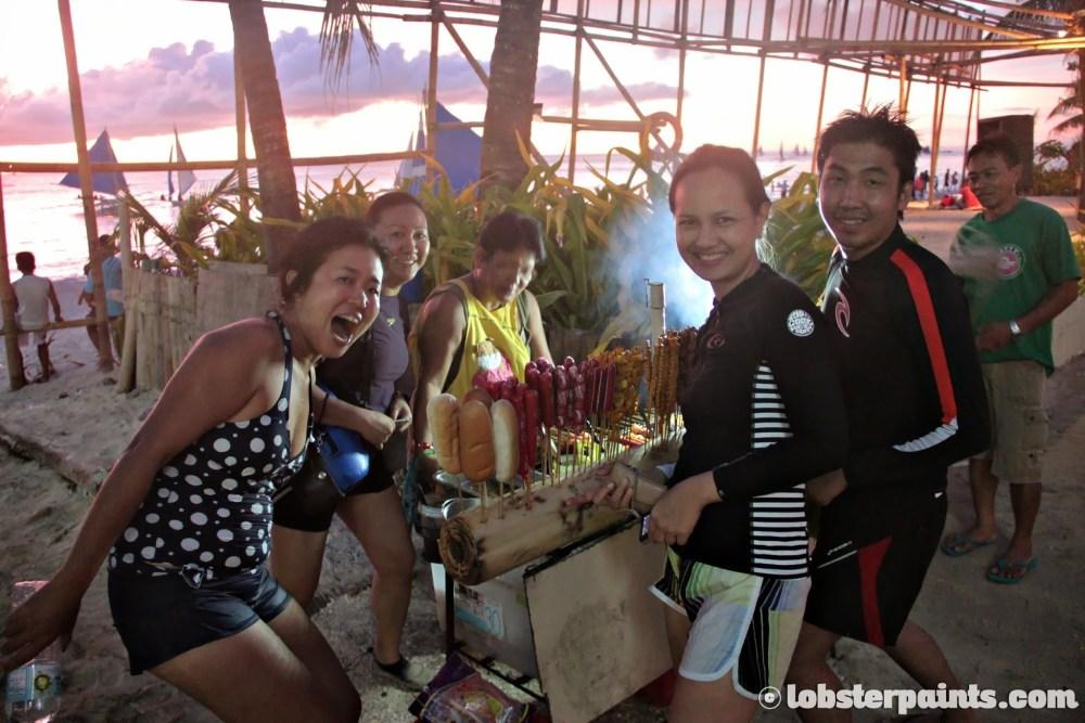"""Boracay November 2013 - """"Streetside"""" BBQ"""