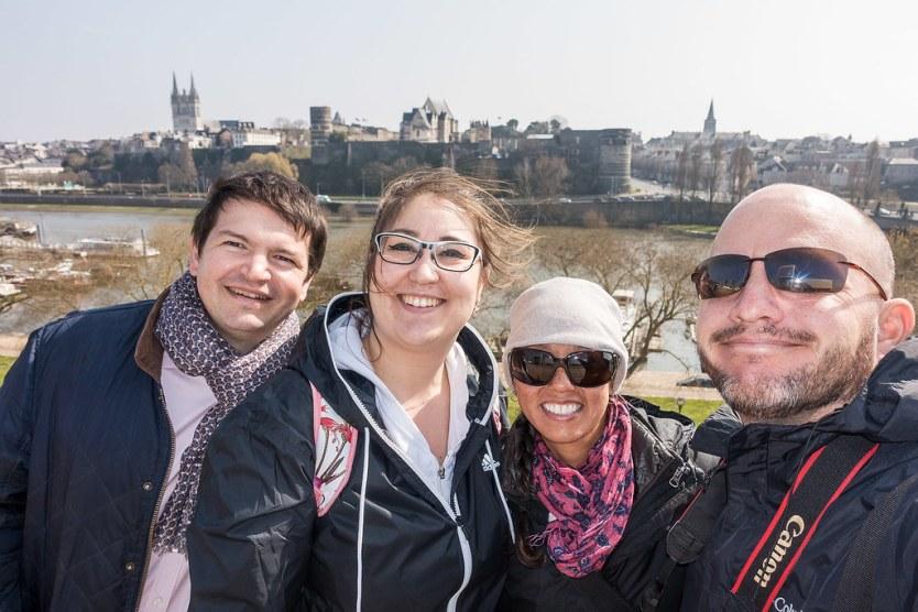 (From Left) Antoine, Janna, Heather and Matthew.