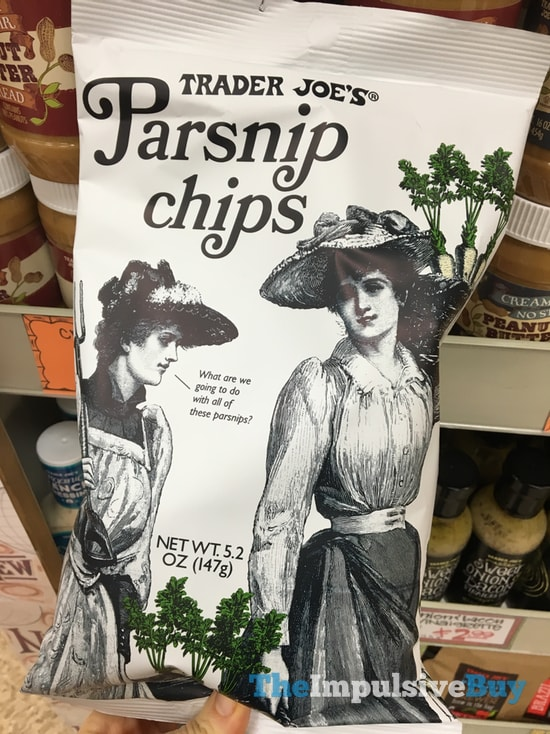 Trader Joe's Parsnip Chips