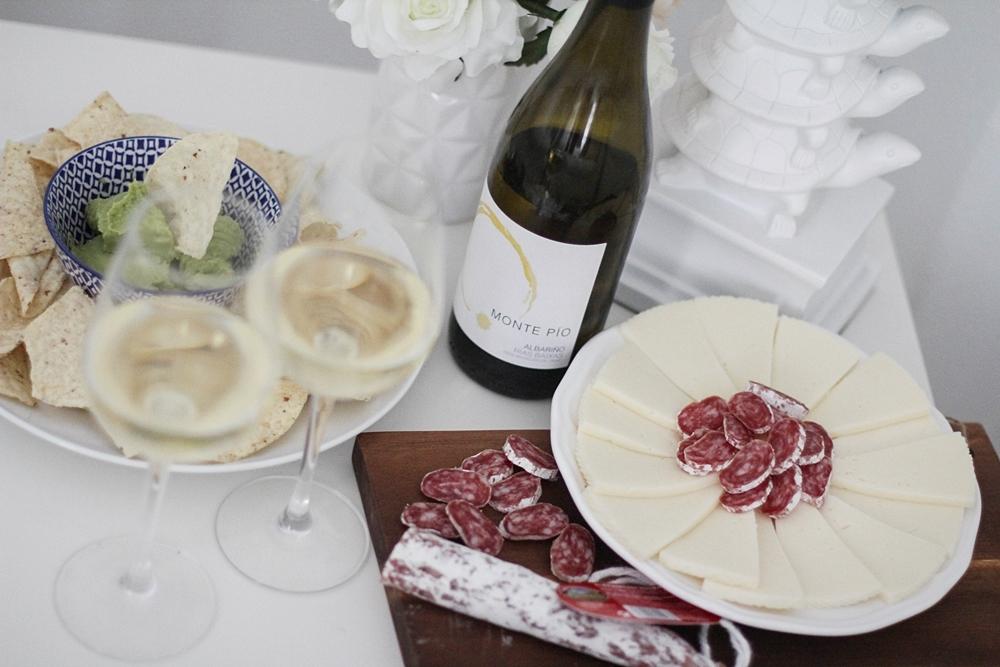 cena de picar con albariño monte pio myblueberrynightsblog