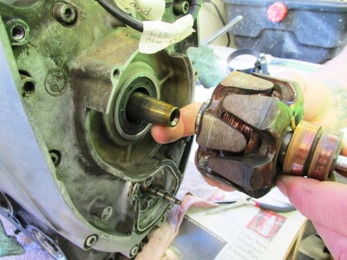 Alternator Rotor Fits on Tapered Crankshaft Nose