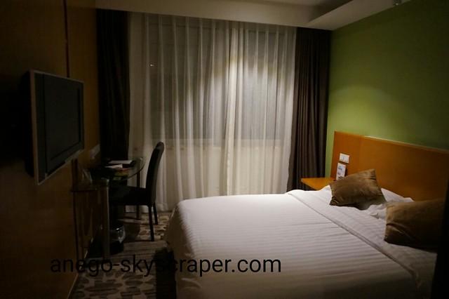 エアポートホテルの室内