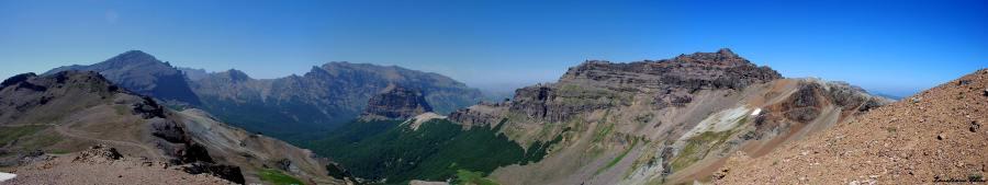 Vista del Cerro Chapelco
