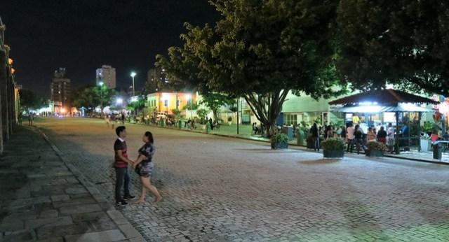 outside amazonas theater manaus
