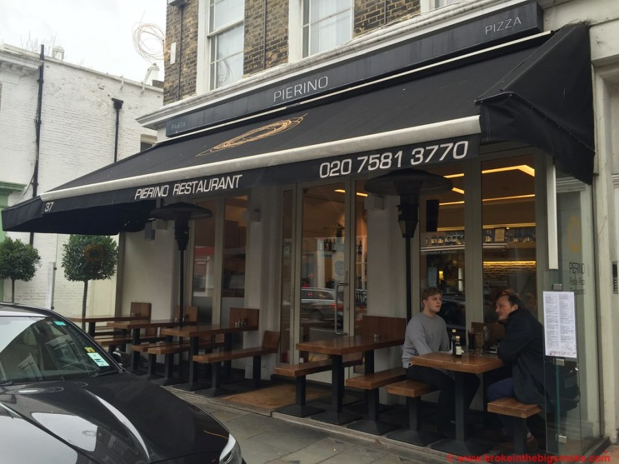 Pierino South Kensington Outside.JPG