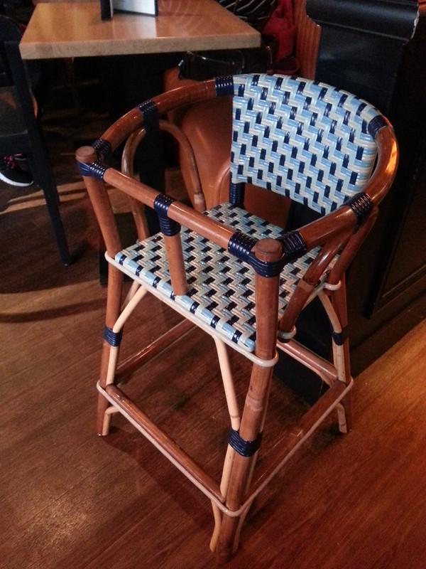 Gabrielle Cafe Paris high chair