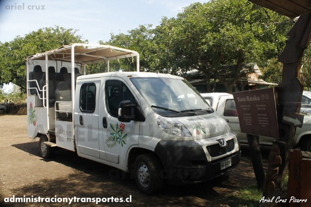 Resort Hare Noi - Turismo Isla de Pascua - Peugeot Boxer (GGXJ15)