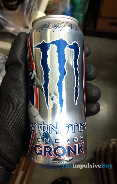 Monster Gronk Energy Drink