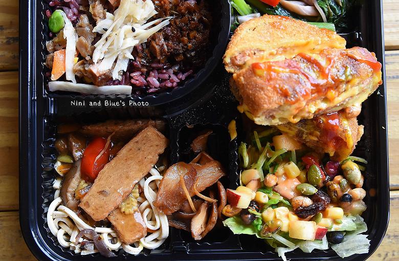 素食便當本東蔬食便當餐盒18