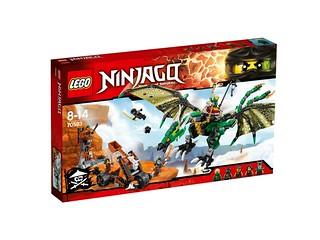 LEGO Ninjago 70593 The Green NRG Dragon box