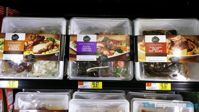 Sam's Choice Meal Kits (Chicken Marsala, Chicken Teriyaki, and Beef Pot Roast)