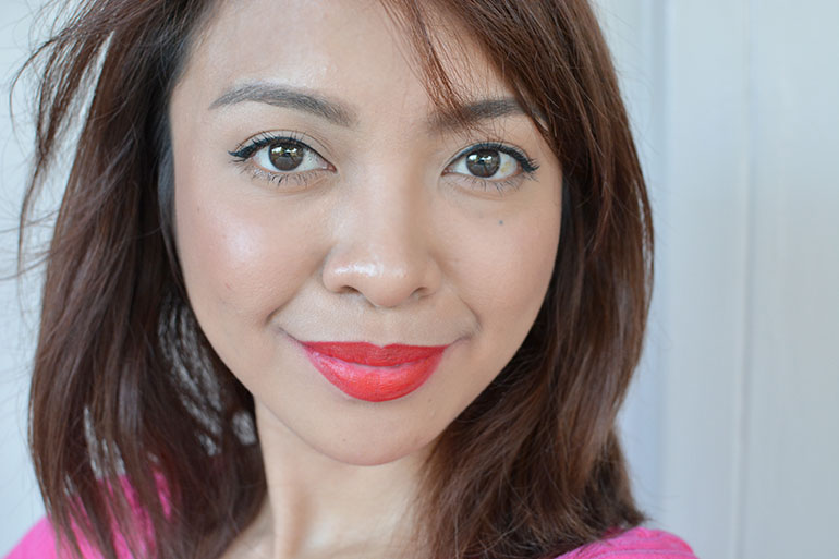 15 Maybelline Creamy Matte Siren in Scarlet Lipsticks Review Swatches - Gen-zel.com (c)