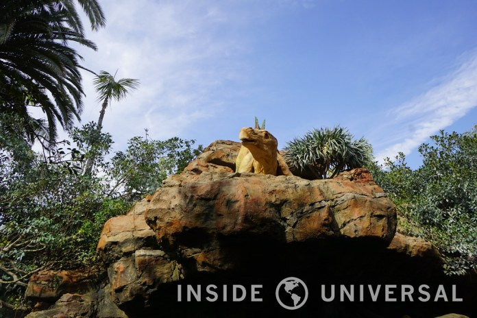 Jurassic Park: The Ride reopens after a lengthy refurbishment