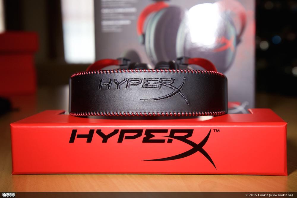Kwaliteitsvolle materialen en een degelijke afwerking, daar gaat het om bij de HyperX Cloud II